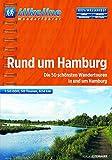 Hikeline Rund um Hamburg. Die 50 schönsten Wandetouren in und um Hamburg,  624 km, 1 : 50 000, GPS-Tracks-Download, wasserfest