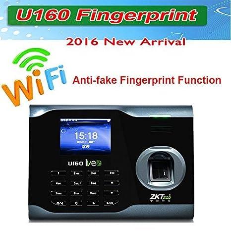 Amazon.com: ZK Biometric Fingerprint Attendance Time Clock+ WIFI +TCP/IP +USB, ZKSoftware Brand: Electronics