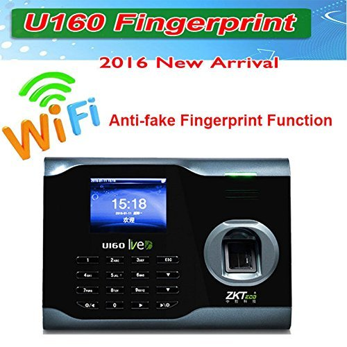 ZK Biometric Fingerprint Attendance Time Clock+ WIFI +TCP/IP +USB, ZKSoftware Brand by tekit