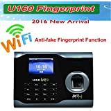 ZK Biometric Fingerprint Attendance Time Clock+ WIFI +TCP/IP +USB, ZKSoftware Brand
