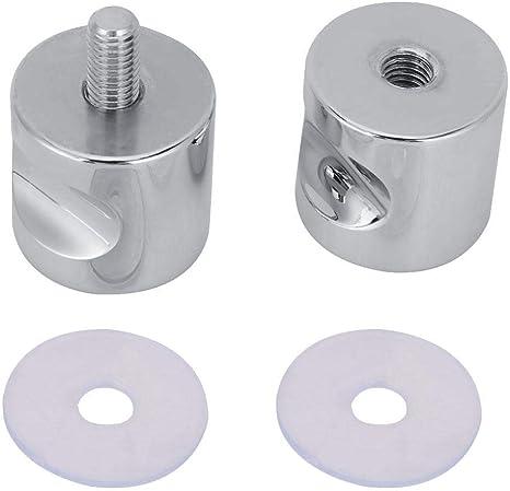 Combort Manija de Puerta corredera de aleación de Aluminio Perilla para gabinete de un Solo Orificio Herrajes para Muebles Herrajes para Puertas corredizas: Amazon.es: Hogar