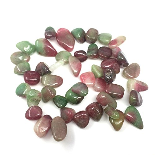 Top Quality Natural Ruby Zoisite Gemstones Smooth Teardrop Loose Beads Free-Form ~18x10mm Beads (~16