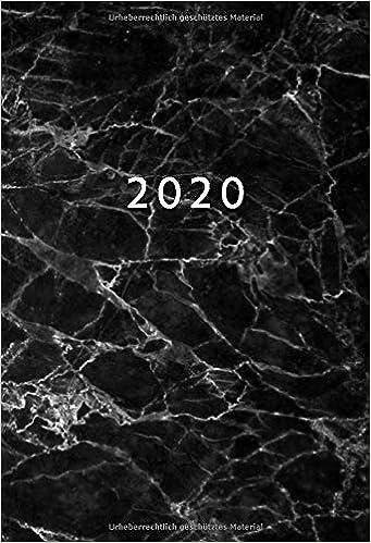 Kalender Taschenkalender Buchkalender Planer Timer 2020 A6 1 Woche = 2 Seiten