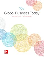 Global Business Today, 10th Edition Front Cover