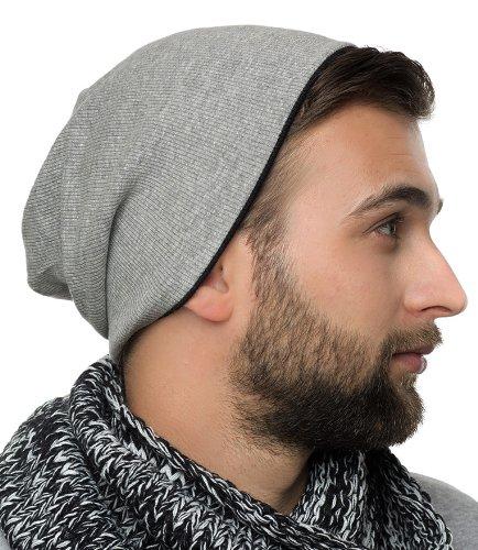 Brooklyn Hat - Trendy tourner longtemps Bonnet pour hommes et femmes - 2013/2014 - a réversible, chapeau d'hiver, chapeau mou Feinzwirn