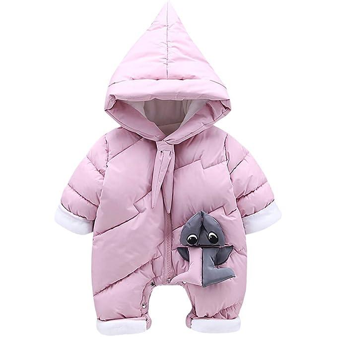 Zilee Säugling Langarm Kapuzen Anzug Neugeborenes Warmer