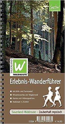 Wanderführer Sauerland-Waldroute  Erlebnis Wanderführer  Amazon.de   Naturpark Arnsberger Wald, Kreis Soest  Bücher c97466ca4a