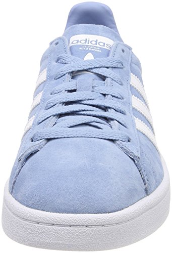 adidas Originals Women's Campus, Ash Blue/White