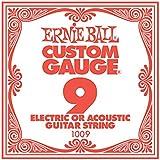 【正規品】 Ernie Ball バラ弦 09 ゲージ 6本セット #1009