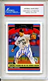 Anibal Sanchez 2006 Topps Rookie Florida Marlins Autographed Trading Card - Certified Authentic