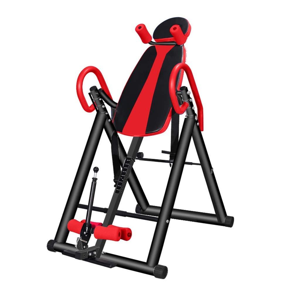 反転テーブル 逆さまにされた世帯の逆にされた機械適性装置 ジム反転機 (色 : 赤, サイズ : 145*76*100CM) 赤 145*76*100CM