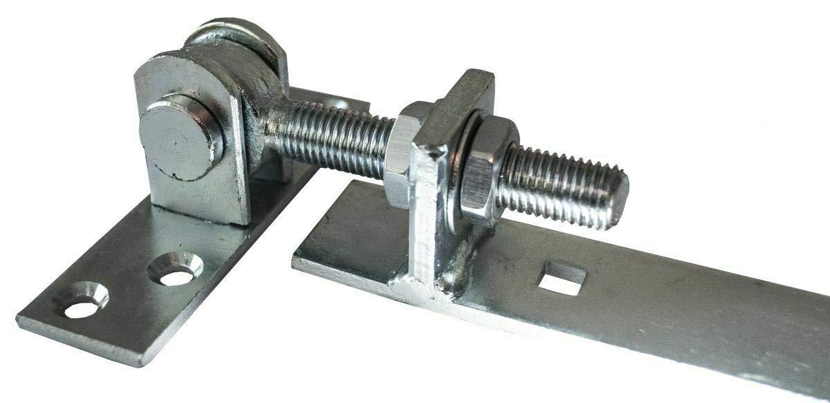 400 mm M16 Ladenband Torbeschlag zum einstellen Verzinkt Torband verstellbar L