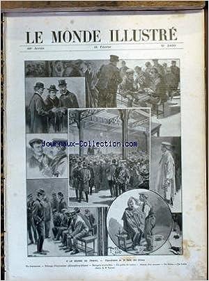 Téléchargement de livres électroniques gratuits pdf MONDE ILLUSTRE (LE) [No 2499] du 18/02/1905 - A LA BOURSE DU TRAVAIL - VACCARI. ePub