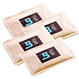Boveda 62% RH 2-Way Humidity Control, 67g, Large, 4 Pack