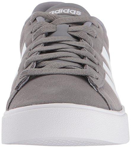 Sneaker Adidas Mens Daily 2.0 Grigio Tre / Bianco / Bianco