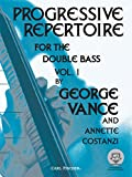 Progressive Repertoire for the Double Bass, Vol. 1 (Book & MP3)