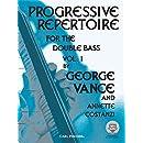Progressive Repertoire for the Double Bass, Vol. 1 (Book & MP3)