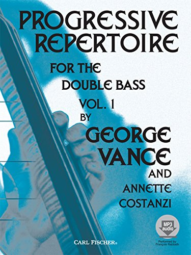 Progressive Repertoire for the Double Bass, Vol. 1 (Book & (Progressive Repertoire Double Bass)