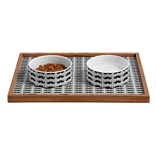 Solstice Feeder (Deny Designs Solstice Stylish Pet Food Bowl, 6