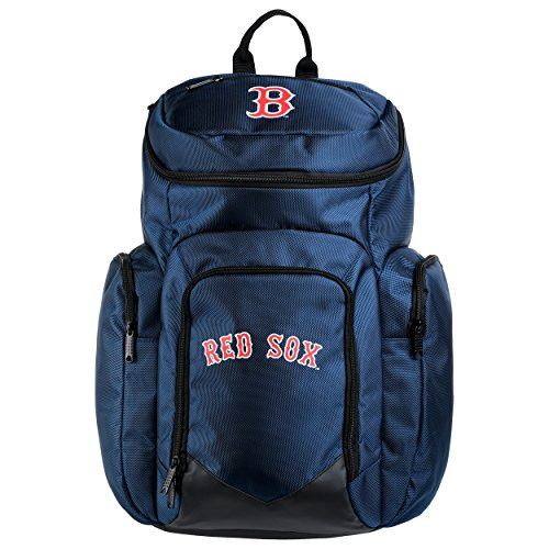 MLB Boston Red Soxtraveler Backpack, Boston Red Sox, One Size Sox Pack