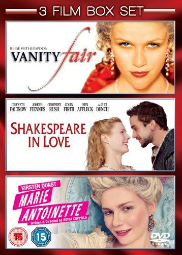 Shakespeare In Love/Marie Antoinette/Vanity Fair [Import anglais]
