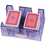 Revolving 6-Deck Card Holder