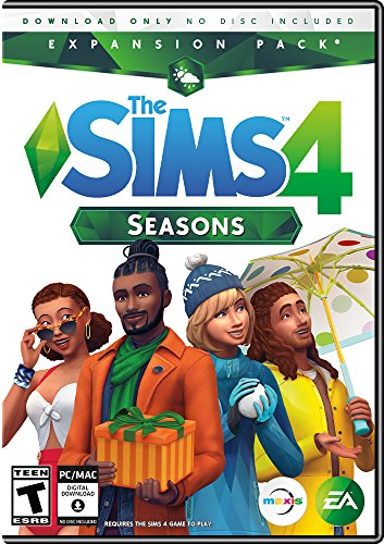 Software : The Sims 4 Seasons [Online Game Code]