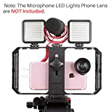 Ulanzi U Rig Pro Smartphone Video Rig, iPhone Filmmaking Case, Phone Video Stabilizer Grip Tripod Mount for Videomaker Film-maker Videographer for iPhone X 8 Plus Sumsang