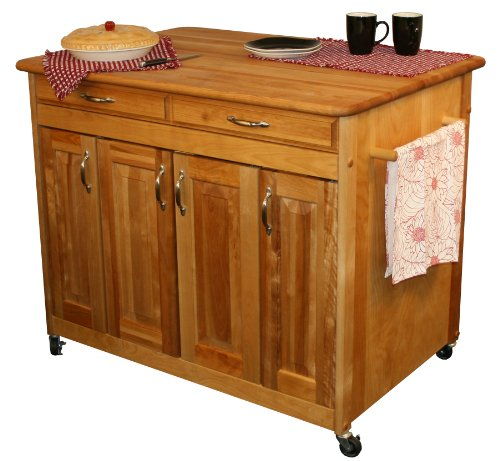 Catskill Craftsmen Butcher Block Workcenter PLUS