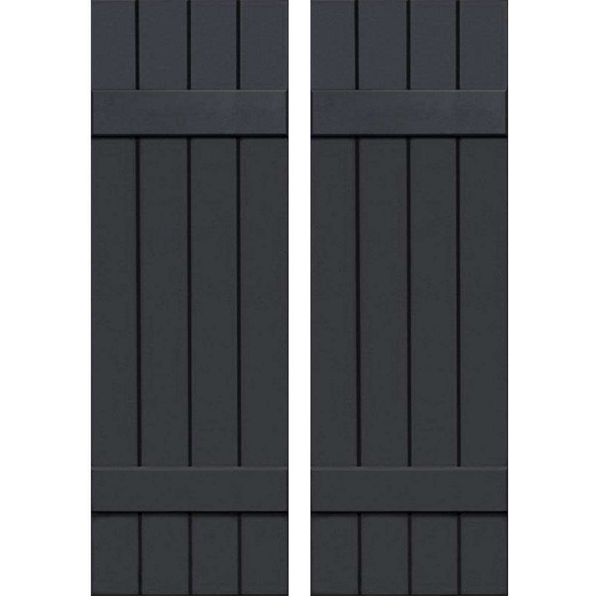 Ekena Millwork CWB15X072BLC Exterior Four Board
