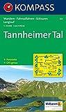 KOMPASS Wanderkarte Tannheimer Tal 04, 1:35000