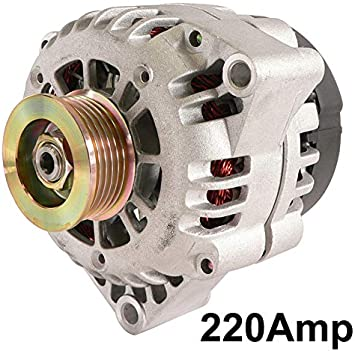 NEW 220 Amp Alternator For Oldsmobile Bravada 4.3L 2001  321-1822 334-2523