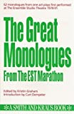 img - for Monologues from Contemporary Literature (Monologue Audition Series) by Eric Kraus (1992-08-04) book / textbook / text book