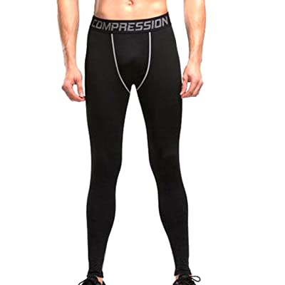 ARRIVE GUIDE Men's Cool Dry Compression Baselayer Pants Tights Legging Shorts