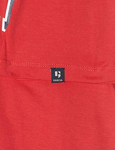 3016 shirt Rouge Garcia Red Homme T chili Yqw8g