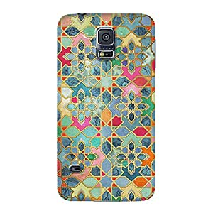 DailyObjects Gilt and Glory Moroccan Mosaic Case For Samsung Galaxy S5