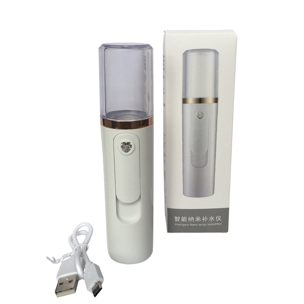 Nano Mist Facial Spray Steamer Yiitay Portable Moisturizing Nebulizer Body Skin Care Mini USB Face Spray Beauty Instruments