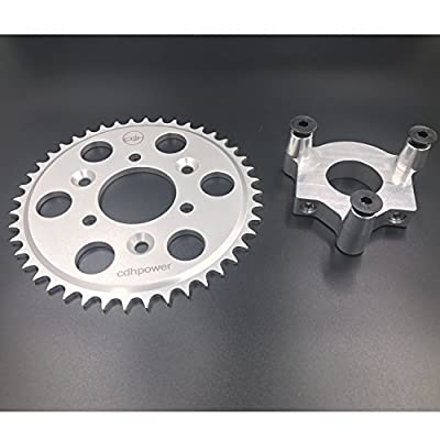"Hub Adapter 1.5"" and 44T sprocket for 2 stroke engine kit"