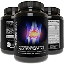 ★ Triple Strength Glucosamine Sulphate Complex 1500mg ★ With Boswellia, Chondroitin, MSM and Tumeric ★ …