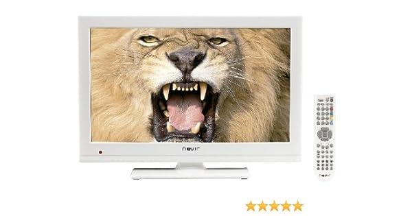 Nevir NVR-7502-19HD-N - Televisión LED, pantalla de 19 pulgadas, sintonizador DTD, Dolby digital plus, color blanco: Amazon.es: Electrónica