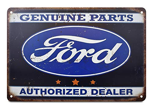 K&H Ford Retro Metal Tin Sign Poster Wall Display ()