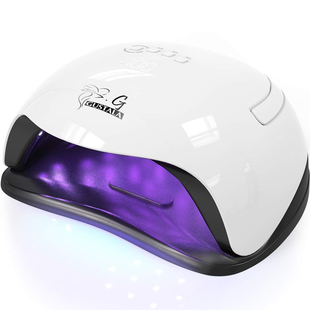 Gustala 54W Gel Nail Lamps with 36 Dual Light Source LEDs
