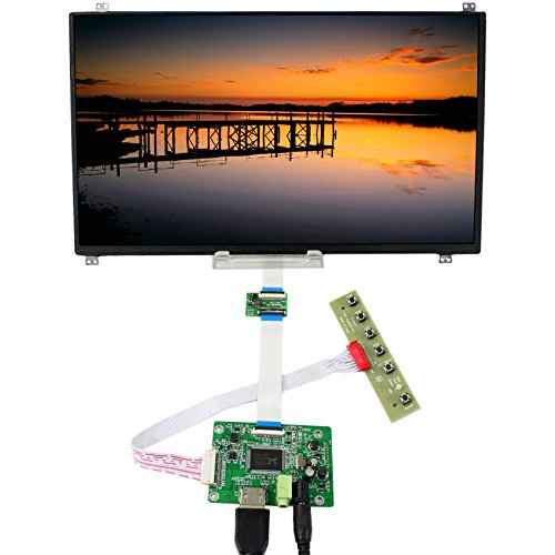 (13.3inch 1920x1080 N133HSE-EB2 LCD Display Screen TFT Monitor with HDMI Input LCD Driver Board Controller DIY)