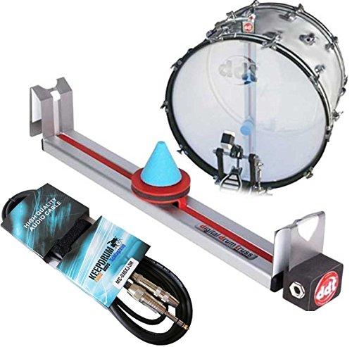 ddt-20-Truss-Systme-de-batterie-lectronique-Trigger-Kick-Grosse-caisse-keepdrum-Rallonge-3-m-jack-65-mm