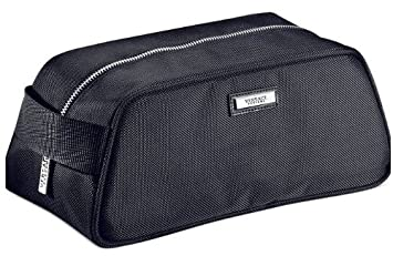 30ccede187 Amazon.com : Versace Parfums Men Toiletry Shaving Dopp Kit Bag with Dust  Cover : Cosmetic Tote Bags : Beauty