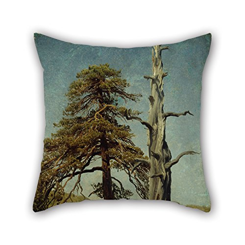 oil-painting-august-cappelen-study-of-trees-pillow-covers-18-x-18-inches-45-by-45-cm-gift-or-decor-f