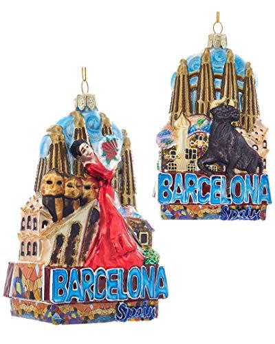Kurt Adler Barcelona Glass Ornament