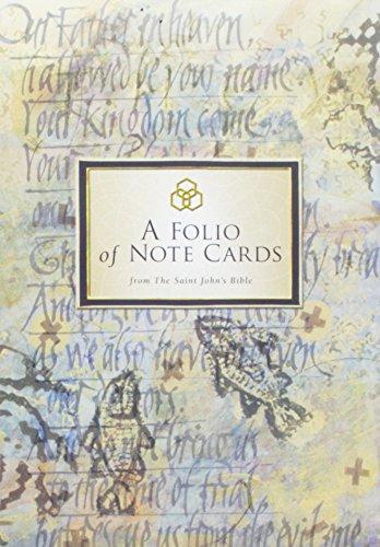 (The Saint John's Bible Note Cards: Gospels Folio)