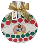 Christmas Gender Reveal Pinata Baby in Ornament Pull Strings Style