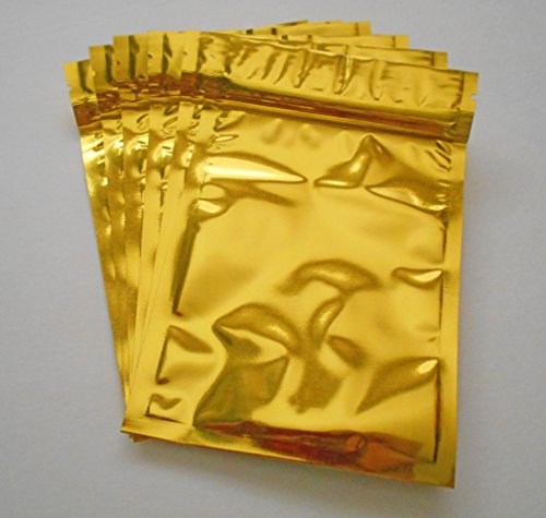gold-aluminum-foil-pouches-mylar-ziplock-heat-seal-bags-safe-food-storage-smell-proof-product-packag